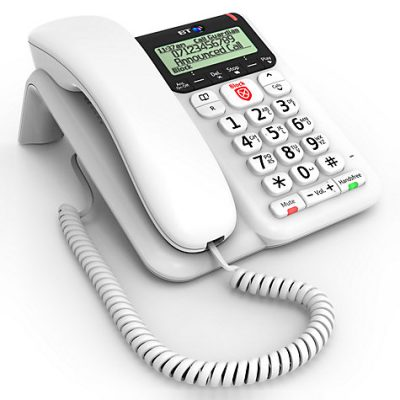 BT Decor 2600 Corded Telephone