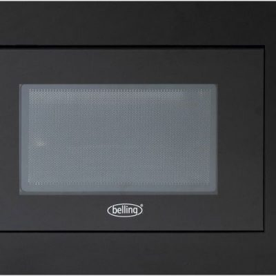 Belling BIM60BLK 23L Black Integrated Microwave
