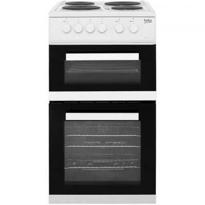 Beko KD533AW 50cm Electric Cooker